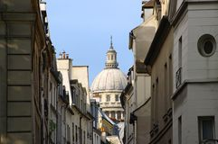 pantheon and paris architecture Stock Images