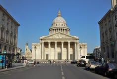Pantheon of Paris, france. Shot of the Pantheon in paris france at daytime Royalty Free Stock Photos