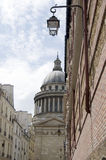 The pantheon paris france Royalty Free Stock Photos