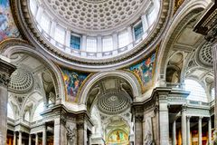 Pantheon in Paris, France Royalty Free Stock Photo
