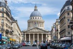 Pantheon in Paris, Frankreich lizenzfreie stockfotos