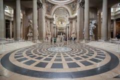 Pantheon Paris Frankreich Stockbilder