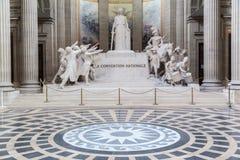 Pantheon Paris Frankreich Stockfotos