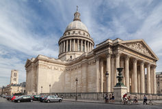 Pantheon Paris Frankreich Lizenzfreie Stockfotos