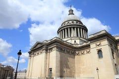 Pantheon, Paris. Pantheon - national landmark in Paris, France. Old church stock image