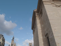 Pantheon paris. Paris's Pantheon - historical building in France Royalty Free Stock Photos