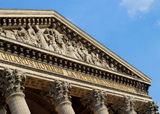 Pantheon, Paris Royalty Free Stock Photos