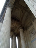 Pantheon pillars Royalty Free Stock Image