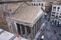 Pantheon Rom stockfotografie