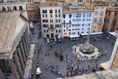 Pantheon Rom lizenzfreie stockfotos