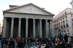 Pantheon, Rom Stockfotografie