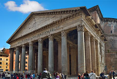 Pantheon in Rom, Italien Stockfotos