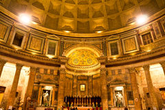 Pantheon, Rom, Italien. Stockfoto