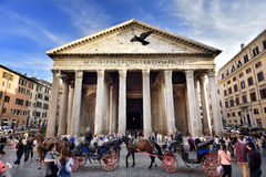 Pantheon, Rom, Italien Stockbilder