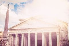 Pantheon in rom Royalty Free Stock Images