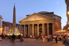 The Pantheon, Roma, Italy stock images