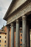 Pantheon, Roman Catholic church, Rome, Italy Stock Images