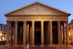 Pantheon, Rome Royalty-vrije Stock Fotografie