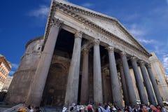 pantheon rome Fotografering för Bildbyråer