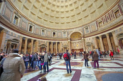 Pantheon in Rome Stock Image