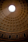 Pantheon, Rome. Sunbeam on the walls inside the Pantheon in Rome, Italy Royalty Free Stock Image