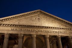 Pantheon, Rome Royalty Free Stock Images