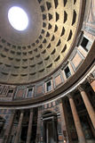pantheon rome royaltyfria bilder