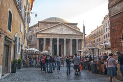 The Pantheon,Rome Royalty Free Stock Image