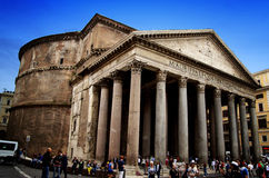 Pantheon Rome Royalty Free Stock Photo