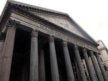Pantheon in Rome stock afbeeldingen