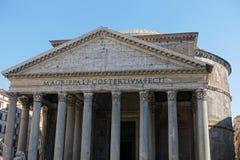 pantheon rome Royaltyfri Fotografi