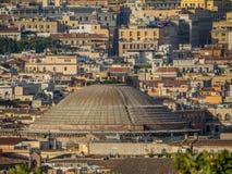 pantheon rome royaltyfria foton
