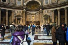 pantheon rome Arkivbild