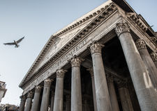 Pantheon in Rome Royalty Free Stock Photography