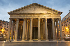 Pantheon . Rome Stock Images