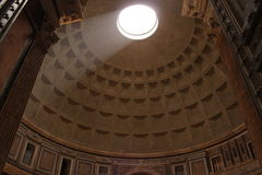 Pantheon Rome. The Dome of Pantheon in Rome Royalty Free Stock Images