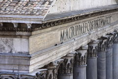 Pantheon Rome Stock Image