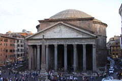 Pantheon Rome Stock Photo