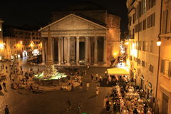 Pantheon Rome Stock Photo