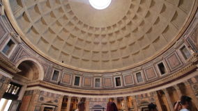 The Pantheon, Rome stock video