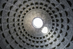 Pantheon in Rome, inside view, Italy Stock Photos