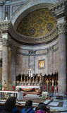 Pantheon in Rome & x28; inside& x29; stock foto