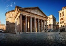 Pantheon in Rome, Italië Royalty-vrije Stock Foto's