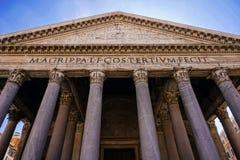 Pantheon - Rome - Italië royalty-vrije stock fotografie
