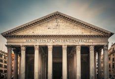 Pantheon in Rome, Italië royalty-vrije stock afbeeldingen