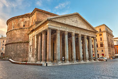 Pantheon in Rome, Italië stock fotografie