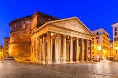 Pantheon, Rome, Italië Royalty-vrije Stock Foto's