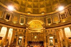 Pantheon, Rome, Italië. Stock Foto