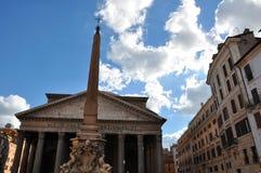 Pantheon - Rome, Italië Royalty-vrije Stock Fotografie