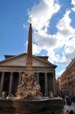 Pantheon - Rome, Italië Stock Afbeeldingen
